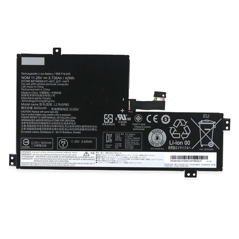 Batterie pour LENOVO L17C3PG0