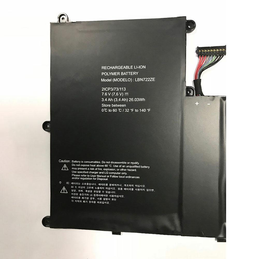 LBN722ZE batteria