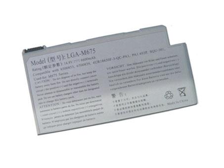 Batterie pour GATEWAY LGA-M675