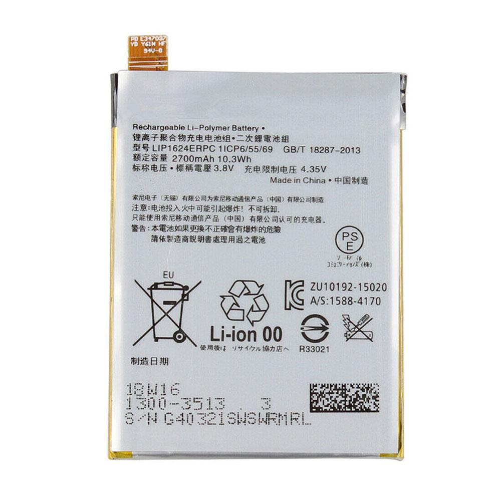 Batterie pour SONY LIP1624ERPC