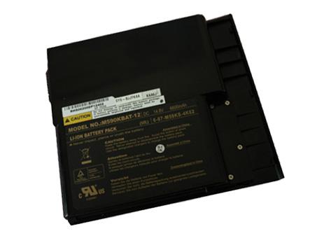 Batterie pour CLEVO 6-87-M59KX-4K62