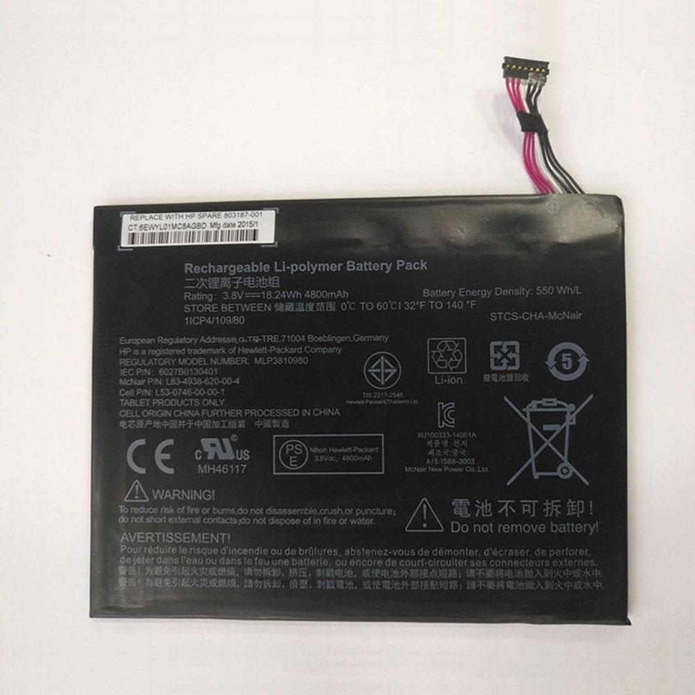 MLP3810980 pc batteria