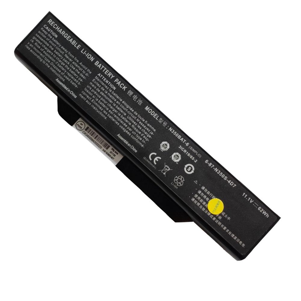 Batterie pour CLEVO N350BAT-6