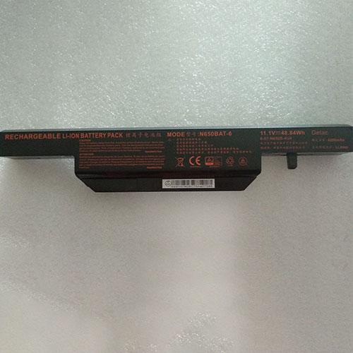 Batterie pour CLEVO N650BAT-6