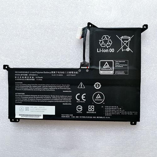 Batterie pour CLEVO NP50BAT-4