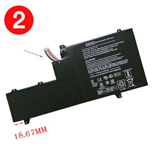 Batterie pour HP OM03XL
