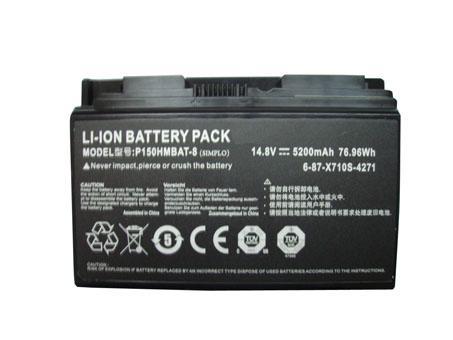 Batterie pour Clevo P170HM P170