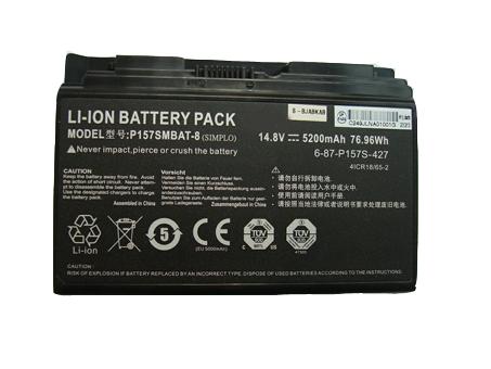 Batterie pour CLEVO P157SMBAT-8