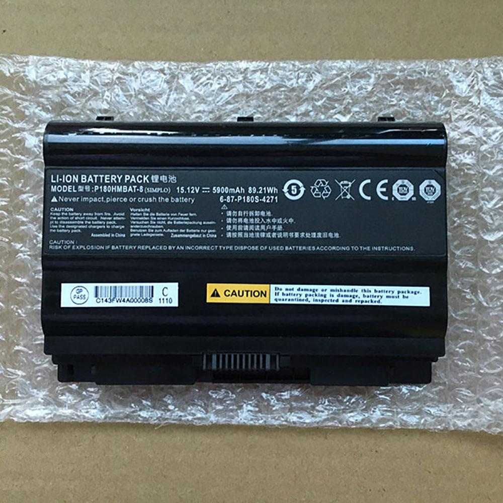 Batterie pour CLEVO P180HMBAT-8