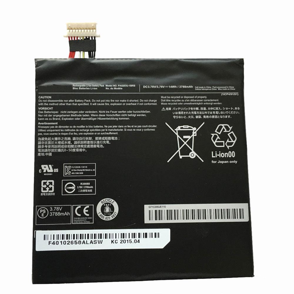 Batterie pour TOSHIBA PA5203U-1BRS