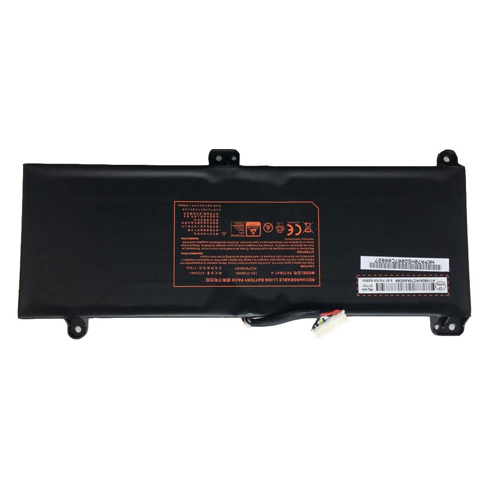 Batterie pour CLEVO PA70BAT-4