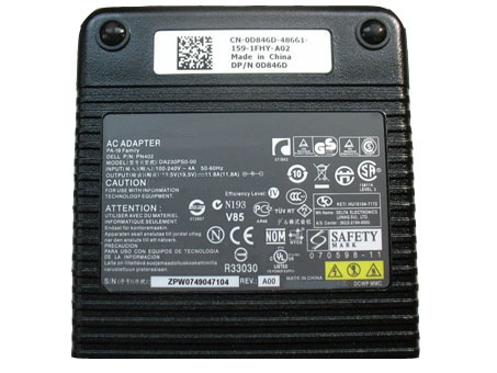 Batterie pour 100-240V  50-60Hz (for worldwide use) 19.5V 11.8A,230W Dell XPS M1730 Laptops
