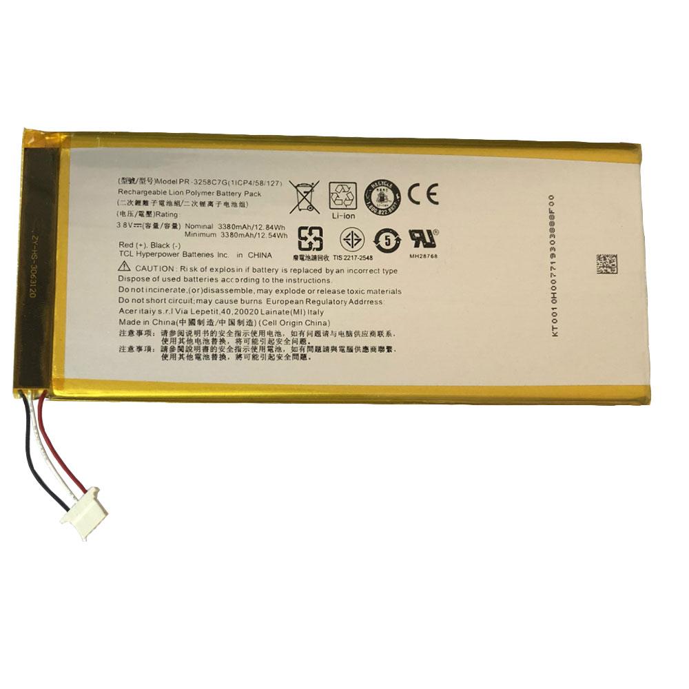 PR-3258C7G pc batteria