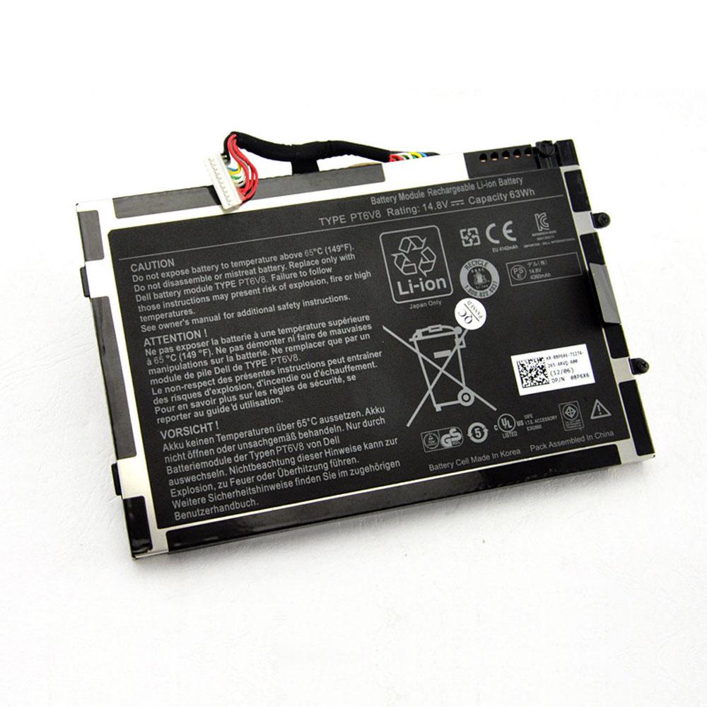 Batterie pour DELL PT6V8