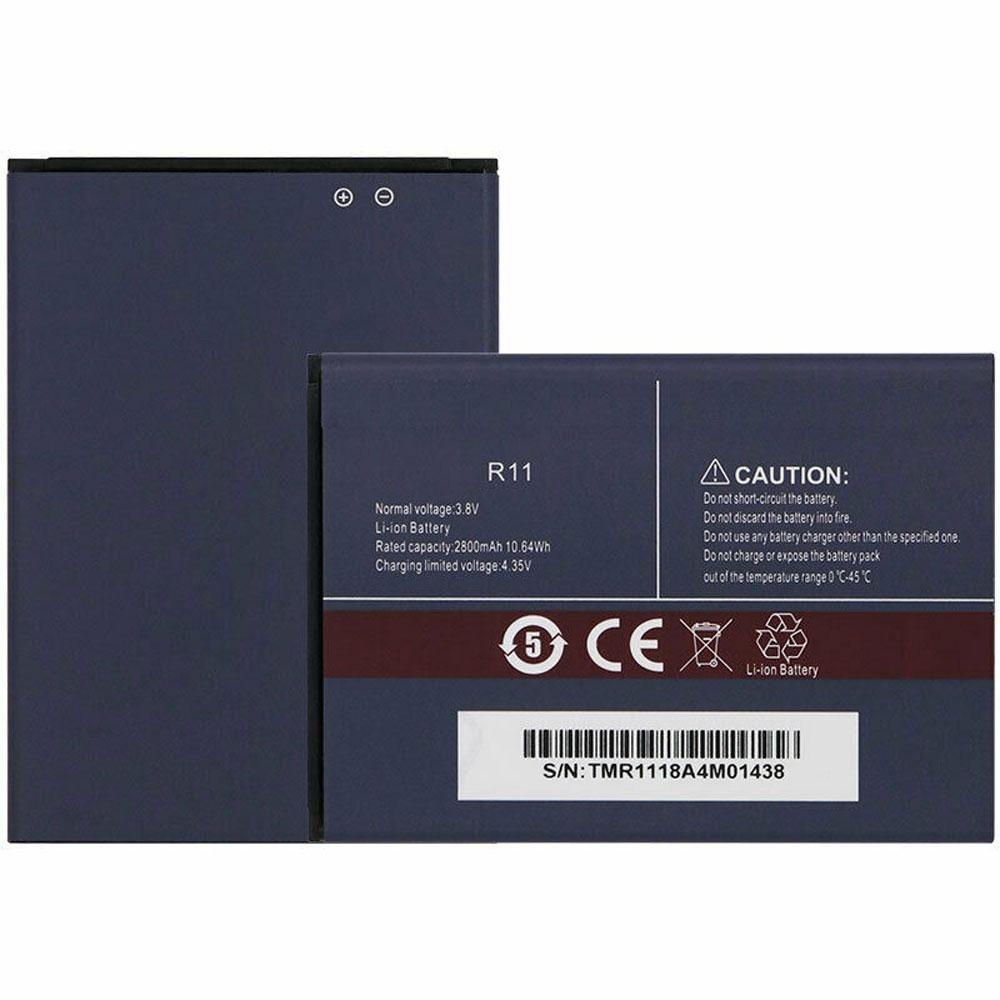 R11 pc batteria