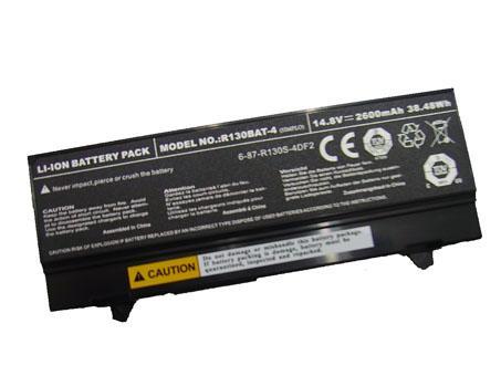 Batterie pour CLEVO 6-87-R130S-4D72