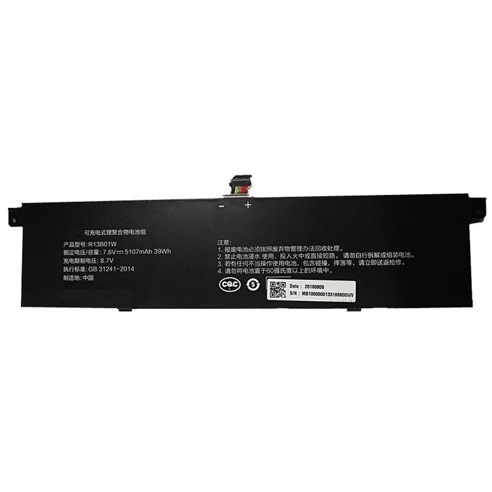 R13B01W pc batteria