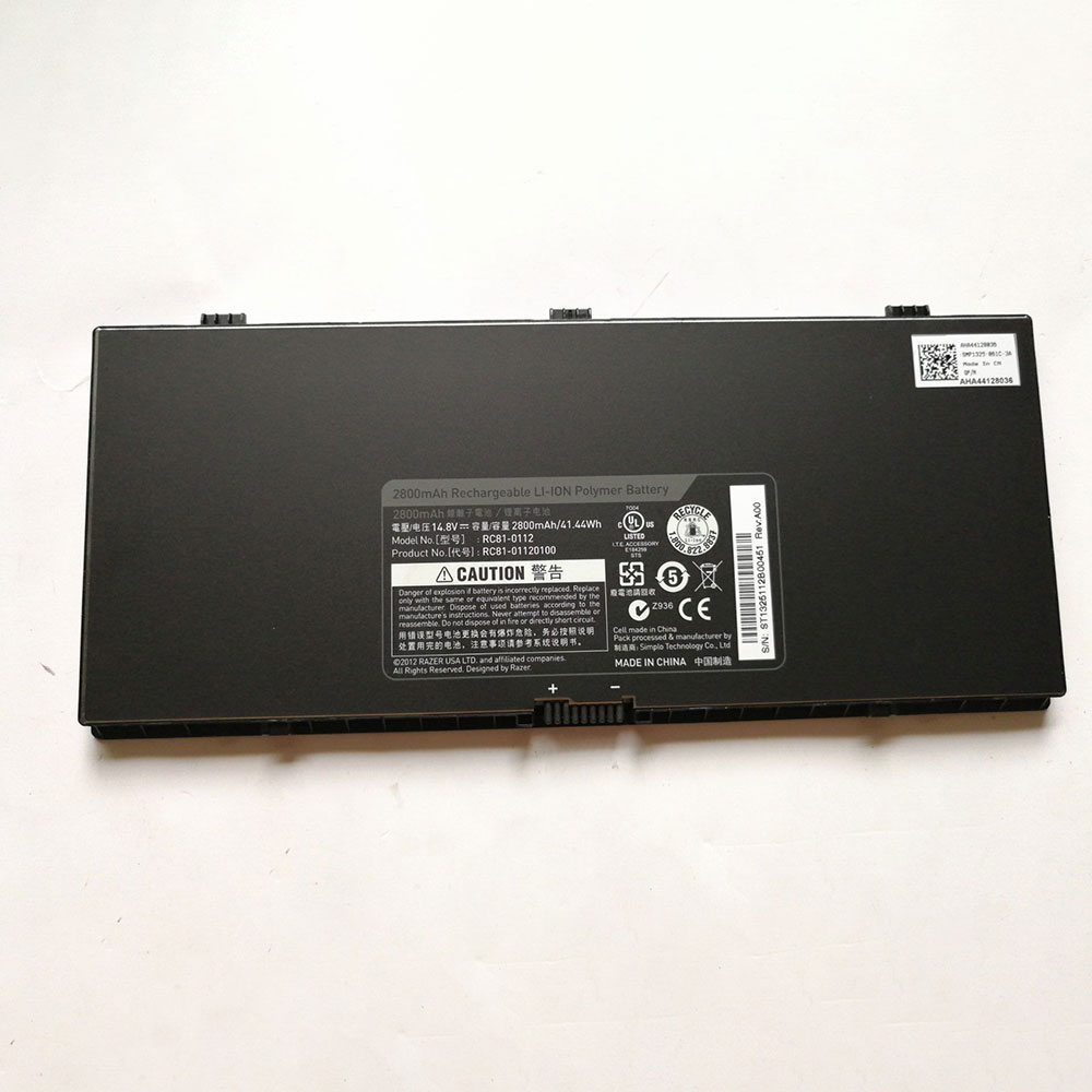 Batterie pour RAZER RC81-0112