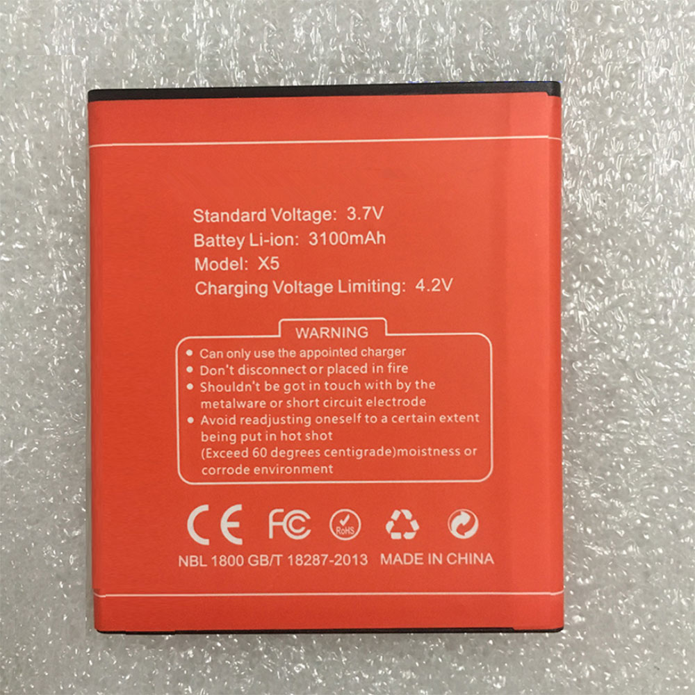 Batterie pour DOOGEE X5