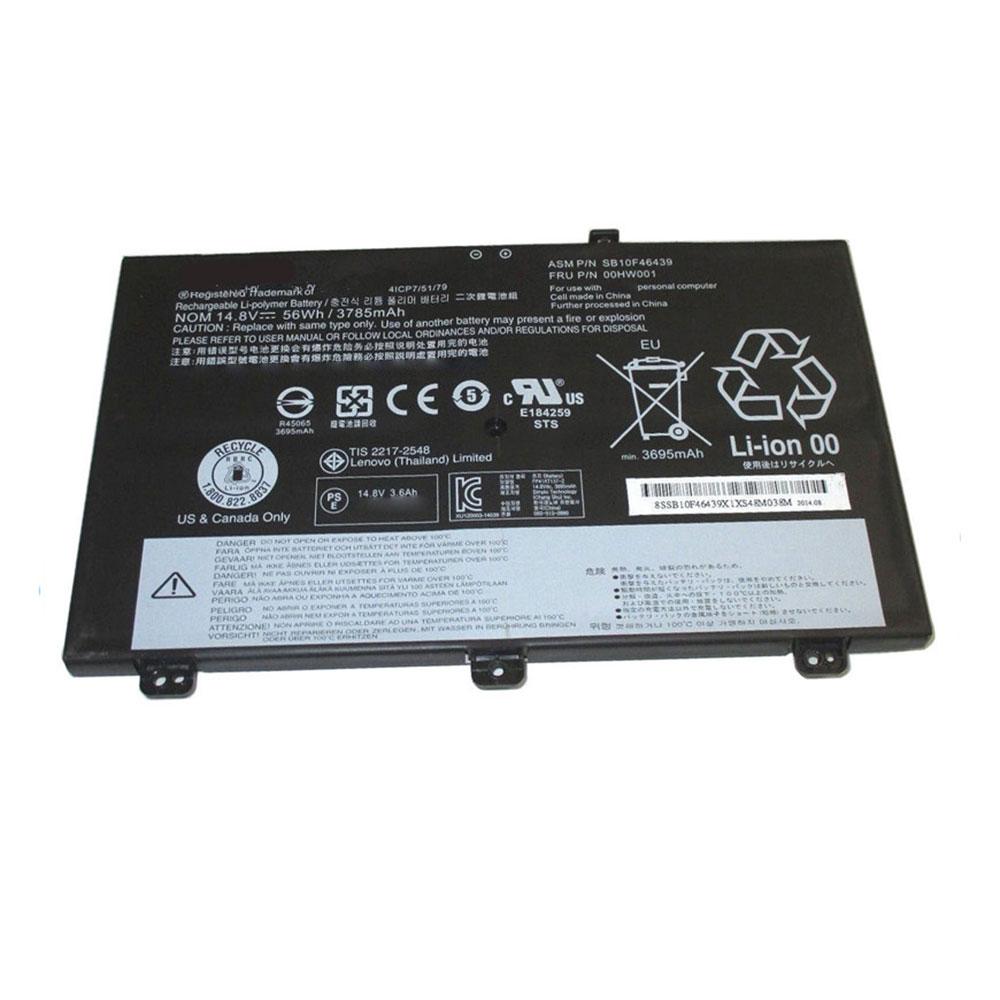 Batterie pour LENOVO SB10F46439