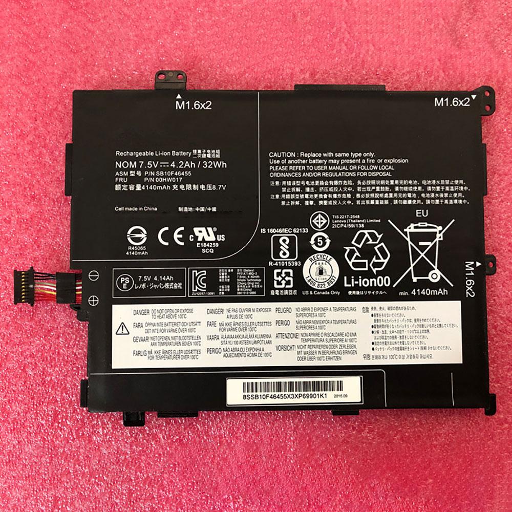 Batterie pour LENOVO SB10F46455