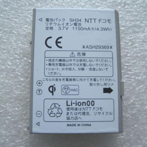 SH34 batteria