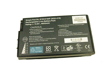 Batterie pour ADVENT 3UR18650F-2-QC-EF6