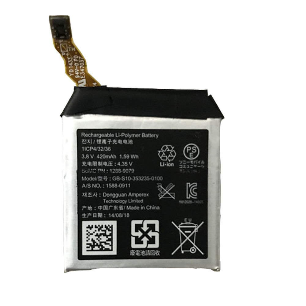 Batterie pour SONY GB-S10-353235-0100