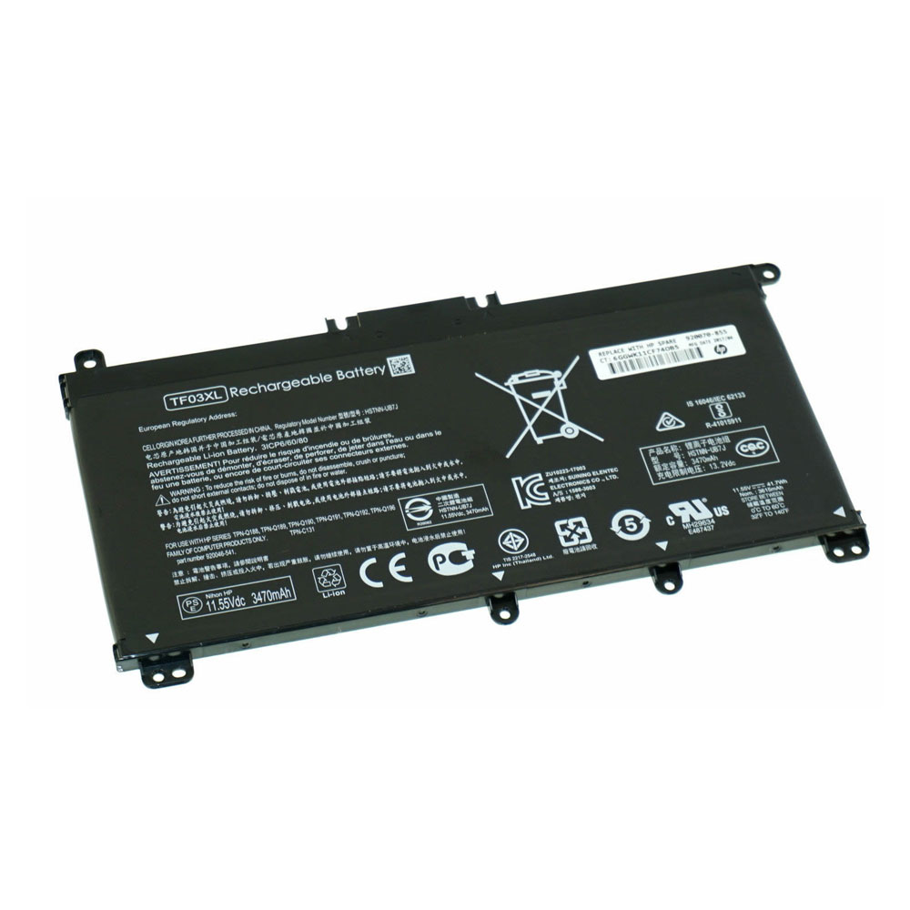 TF03XL pc batteria