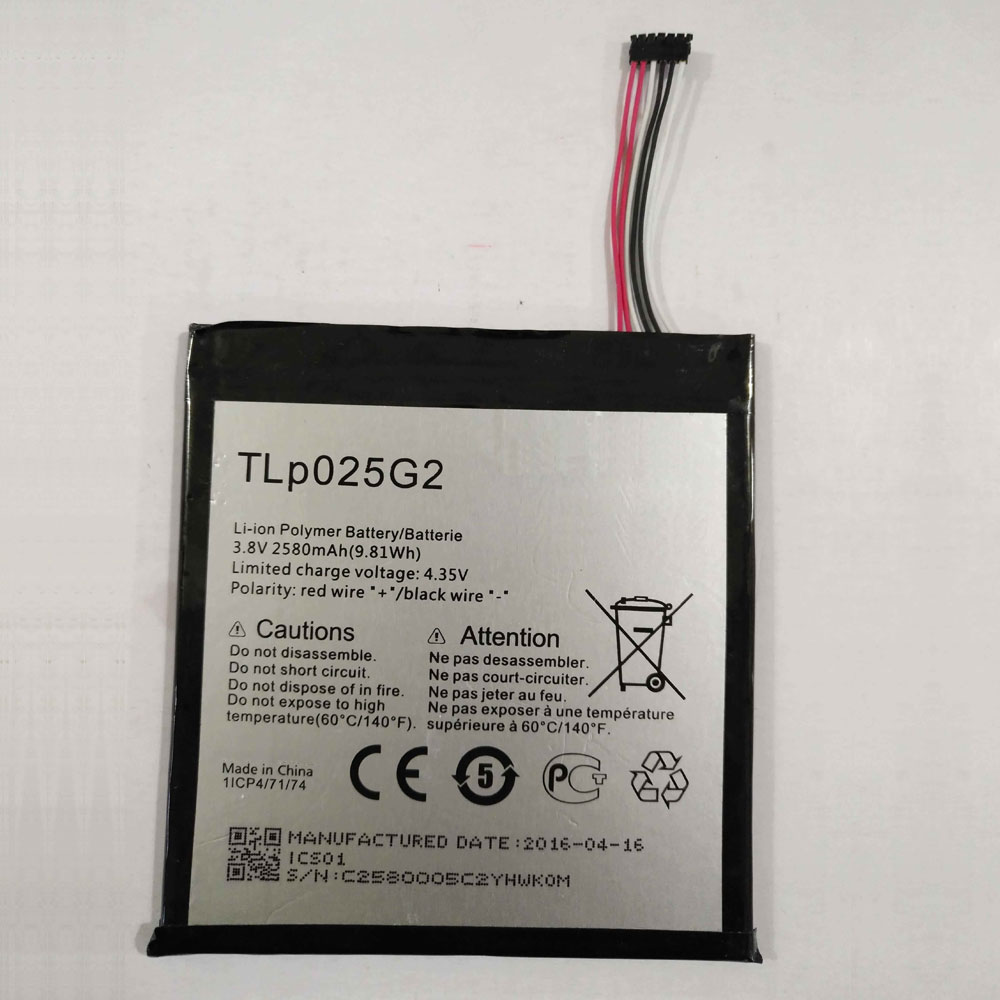 Batterie pour ALCATEL TLp025G2