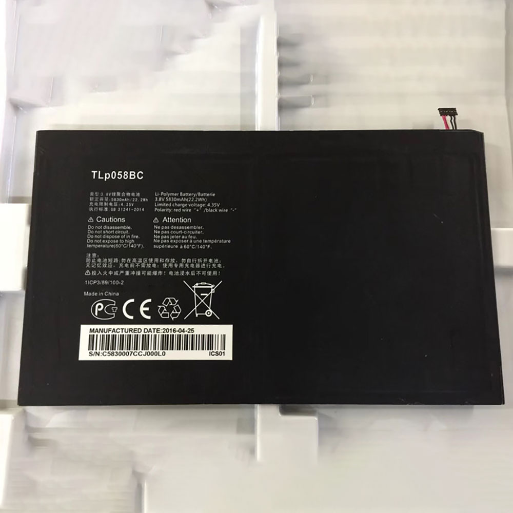 TLP058B2 batteria