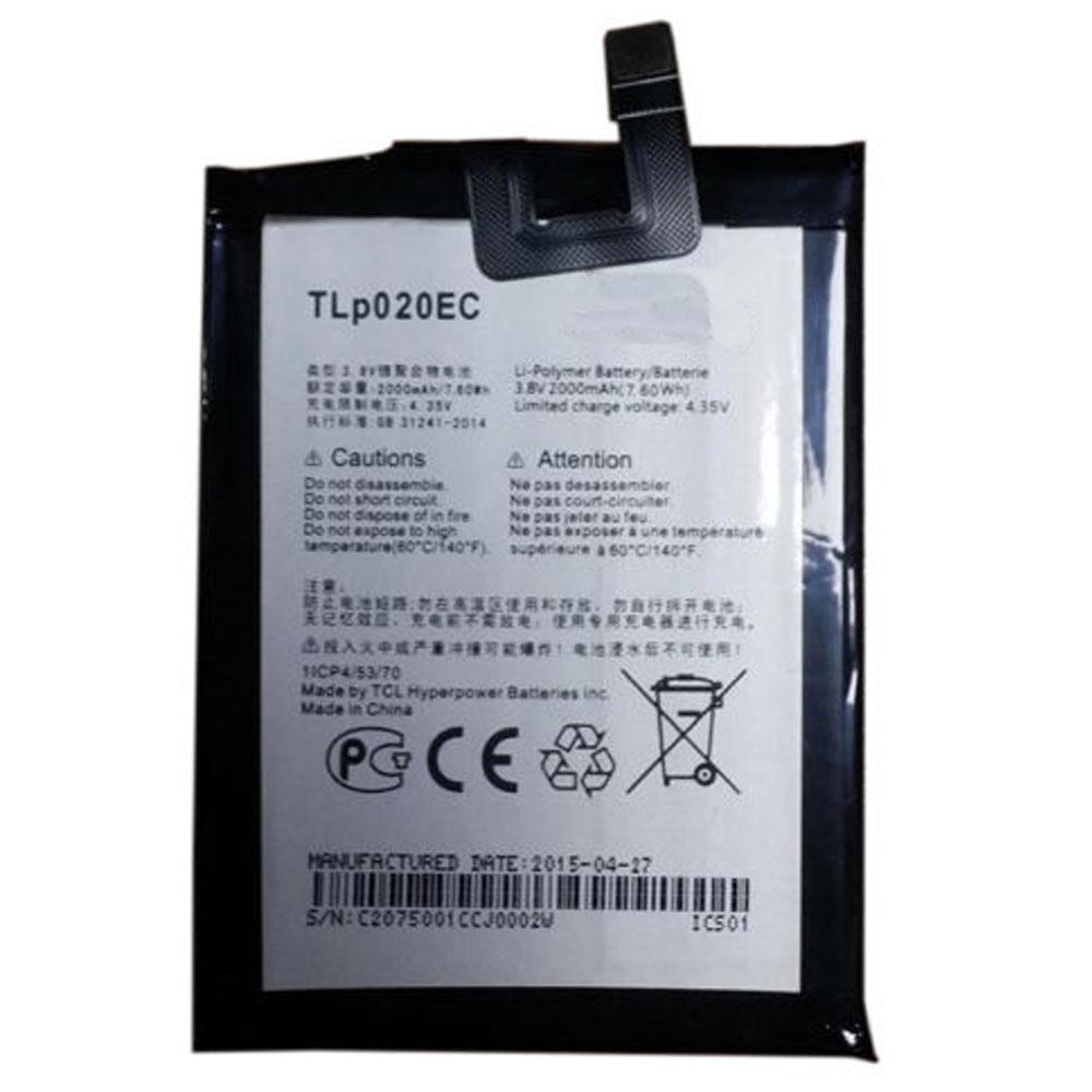 Batterie pour ALCATEL TLp020EC