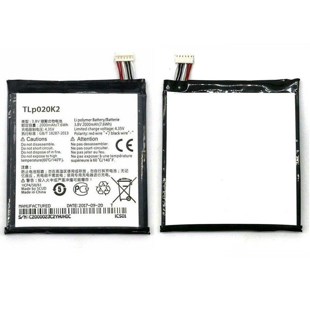 TLp020K2 batteria