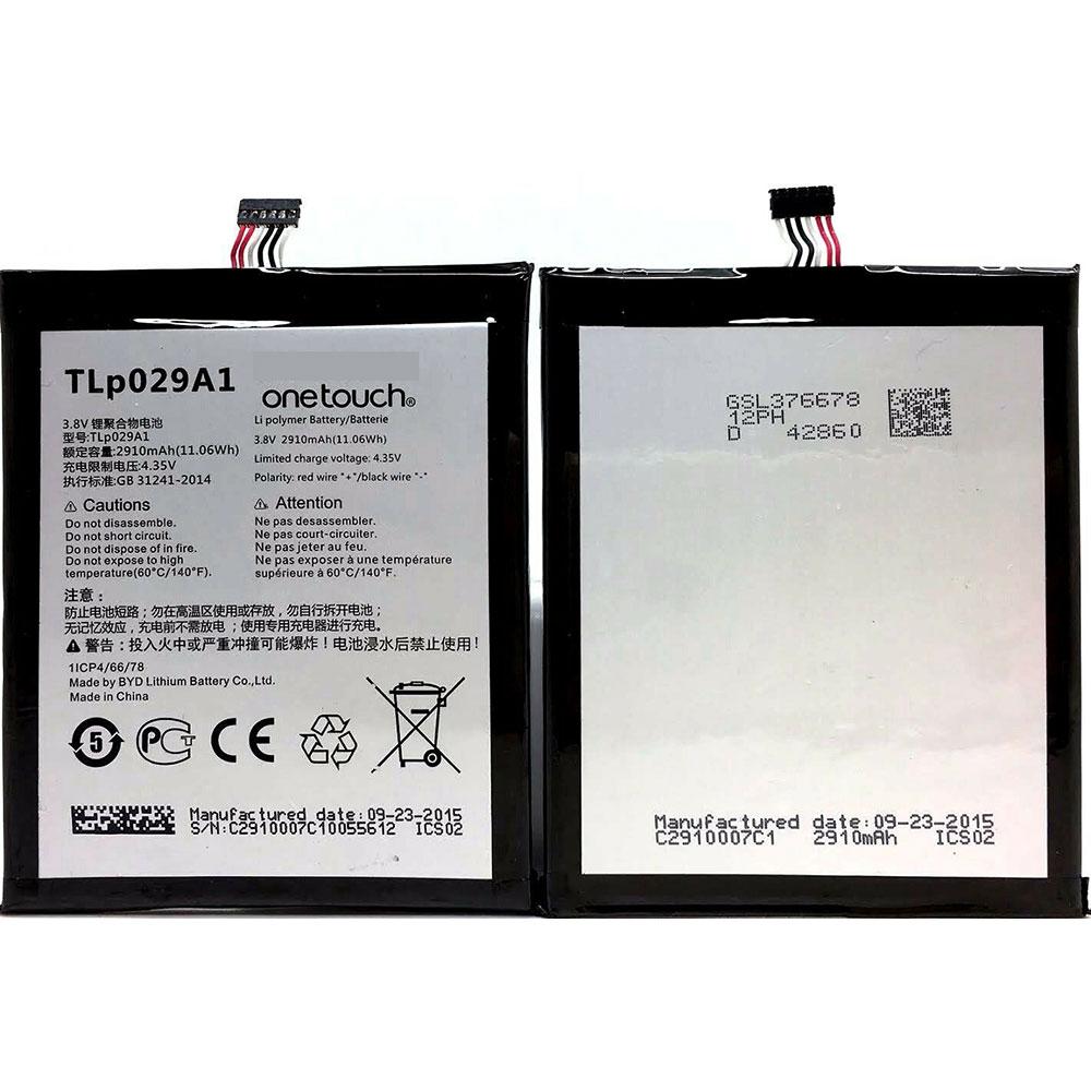 Batterie pour ALCATEL TLp029A1
