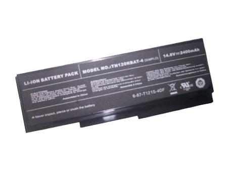 Batterie pour CLEVO TN120RBAT-4