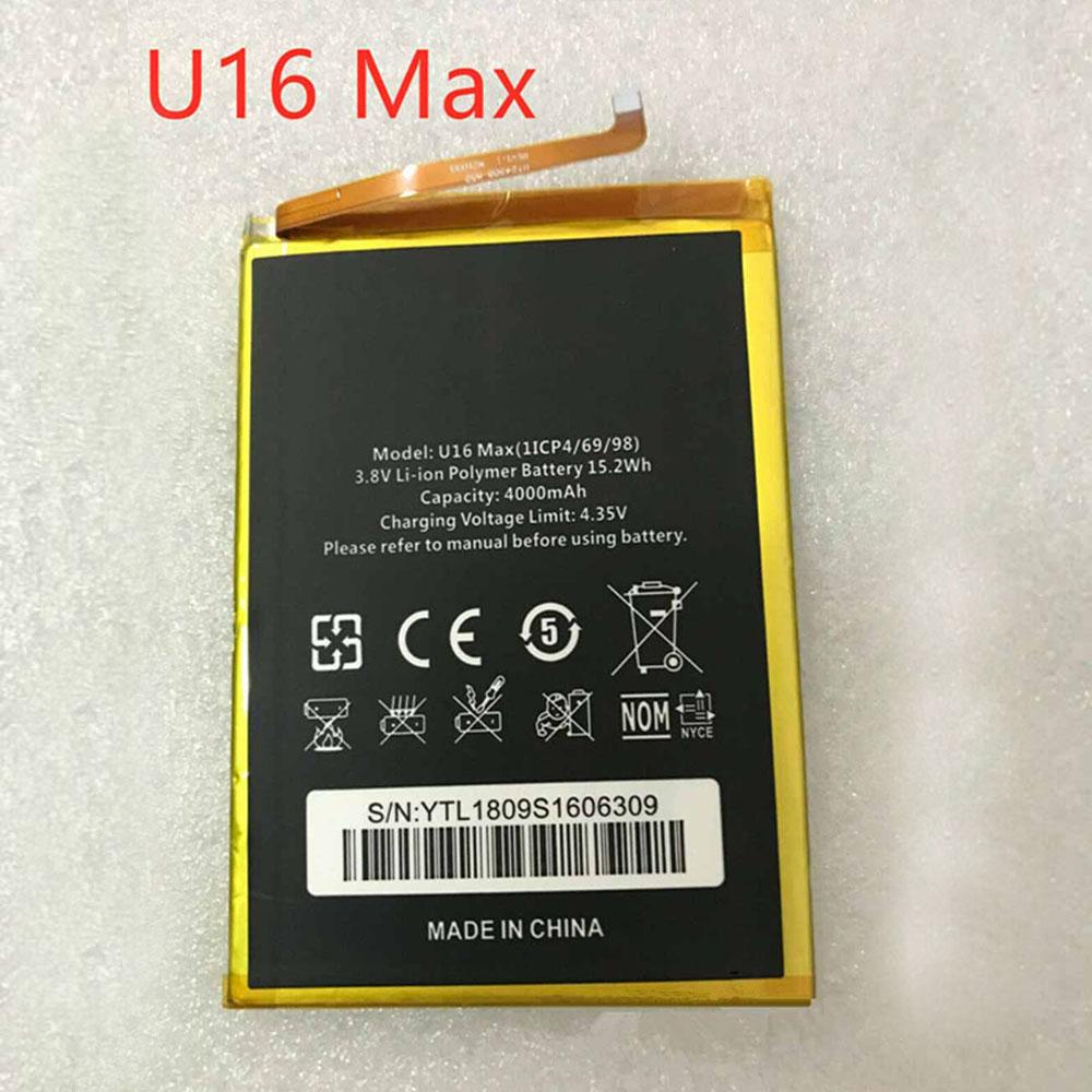 U16_Max pc batteria