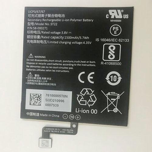 Batterie pour AMAZON 58-000271
