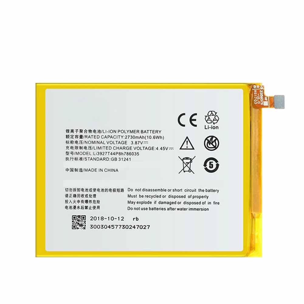 Li3927T44P8h786035 batteria