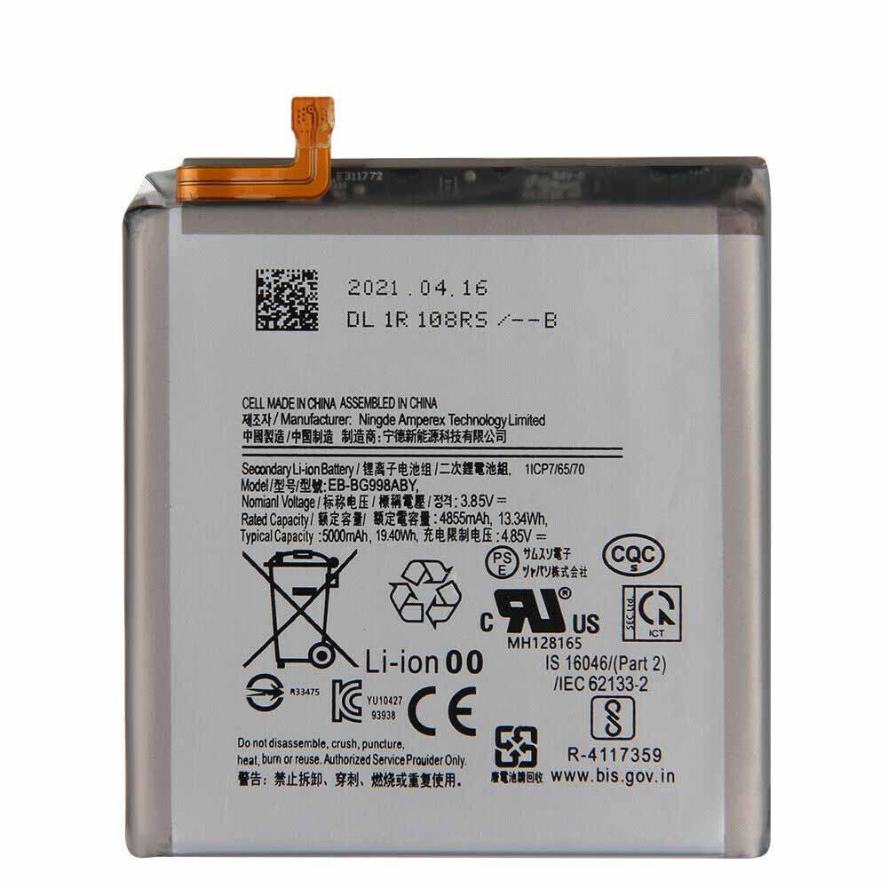 EB-BG998ABY batteria
