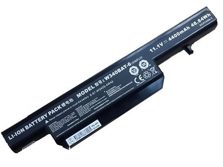 Batterie pour CLEVO W340BAT-6