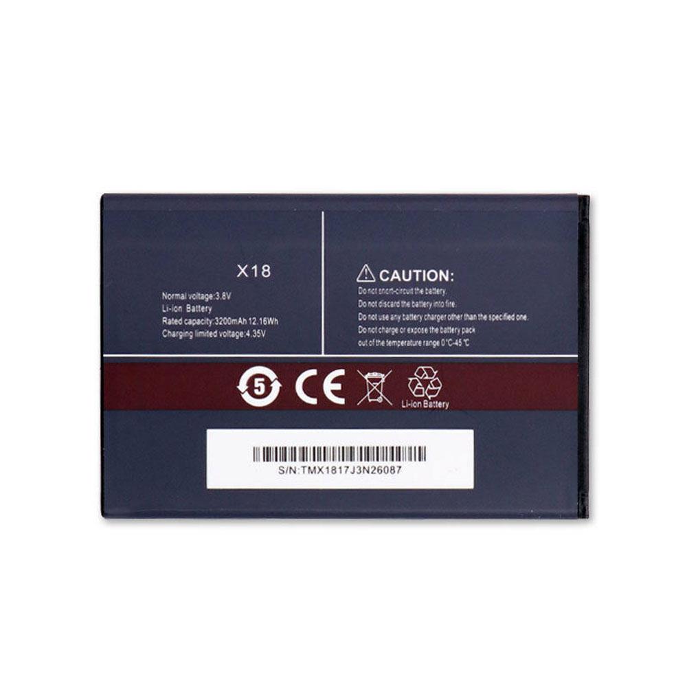 Batterie pour CUBOT X18
