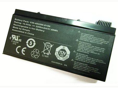 Batterie pour HASEE v30-4s2200-s1s6